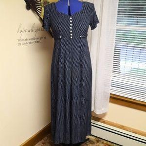 Vintage 1990s Polkadot Midi dress
